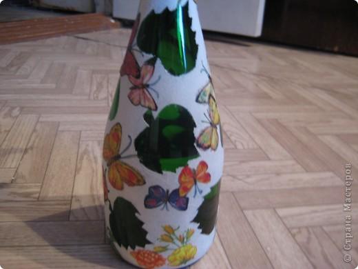 А бутылки-то  оказываются, зелёные, как берёзовые листочки... фото 9