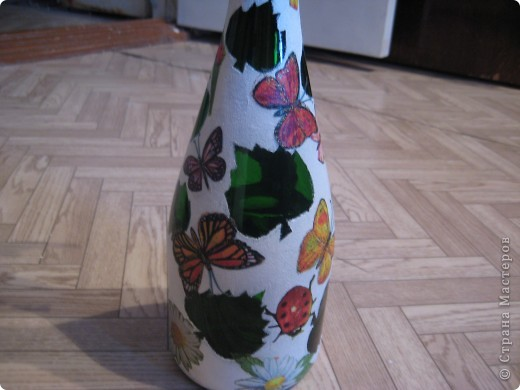 А бутылки-то  оказываются, зелёные, как берёзовые листочки... фото 8