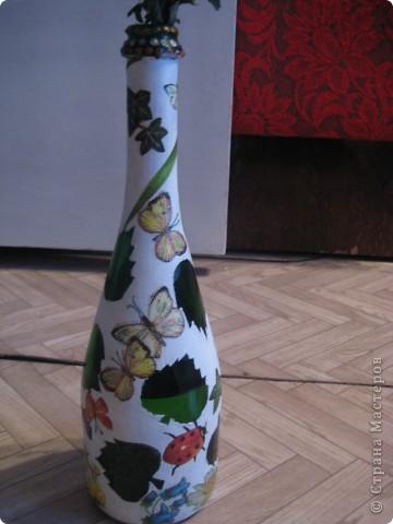 А бутылки-то  оказываются, зелёные, как берёзовые листочки... фото 4