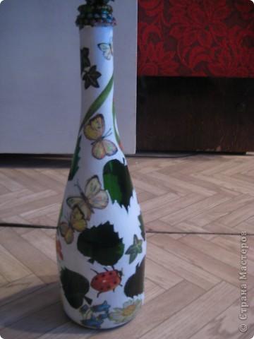 А бутылки-то  оказываются, зелёные, как берёзовые листочки... фото 6