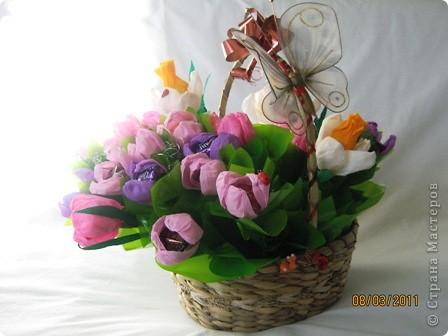 Заготовка цветов. фото 12
