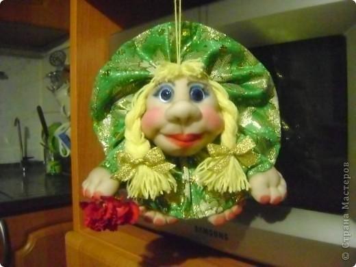 Вот такая кукла попик родилась у меня под впечатлением праздника. Её зовут Марта. фото 3