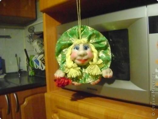 Вот такая кукла попик родилась у меня под впечатлением праздника. Её зовут Марта. фото 2