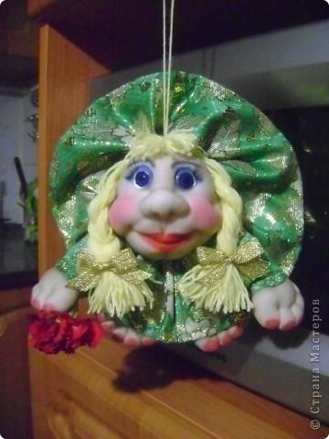Вот такая кукла попик родилась у меня под впечатлением праздника. Её зовут Марта. фото 1