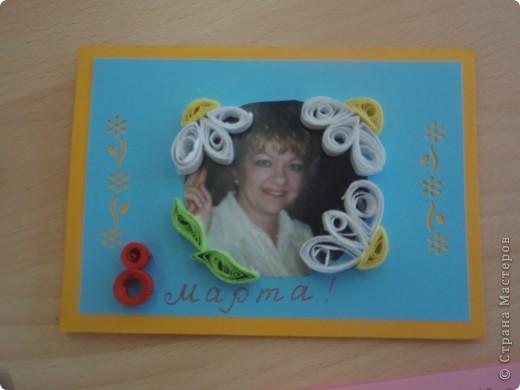 Вот такие открытки получились у моих пятиклашек к 8 марта фото 2