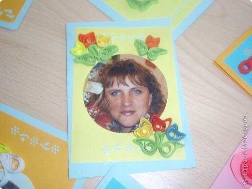 Вот такие открытки получились у моих пятиклашек к 8 марта фото 3