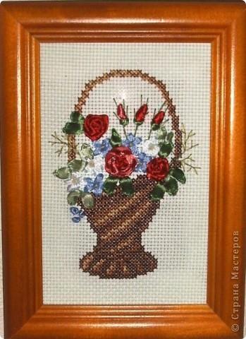 Карзиночка с цветами