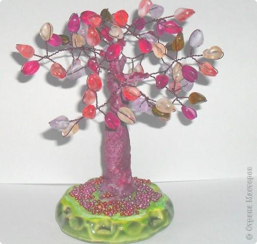 Это мое первое дерево, назвали ЗОЛОТОЕ, сделано из пайеток фото 5