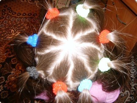 По МК Яны Лапы http://stranamasterov.ru/node/45567 сделали еще в прошлом году причёску. Такой хороший МК, всё понятно! Не было возможности выставить фото. Очень удобная причёска. Делается быстро. Держится долго. фото 1