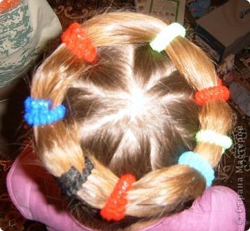 По МК Яны Лапы http://stranamasterov.ru/node/45567 сделали еще в прошлом году причёску. Такой хороший МК, всё понятно! Не было возможности выставить фото. Очень удобная причёска. Делается быстро. Держится долго. фото 2