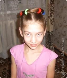 По МК Яны Лапы http://stranamasterov.ru/node/45567 сделали еще в прошлом году причёску. Такой хороший МК, всё понятно! Не было возможности выставить фото. Очень удобная причёска. Делается быстро. Держится долго. фото 3