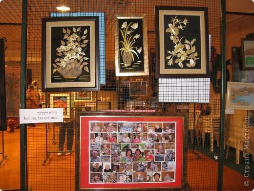 6 марта открылась выставка в здании Муниципалитета г.Нацрат-Иллит. Представленны результаты творчества моих подопечных, которые посещают клуб. Средний возраст-80 лет! Приятного просмотра. Работы Мани Ройс, вышивка(90 лет). фото 13