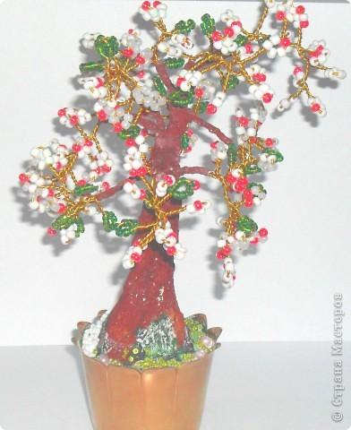Это мое первое дерево, назвали ЗОЛОТОЕ, сделано из пайеток фото 8
