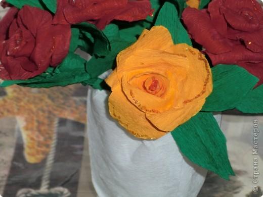 корзина роз фото 4