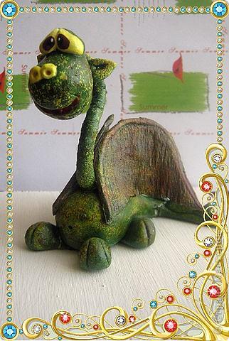 Дракоша(зелененький,по настоящему весенний!!!!) фото 1