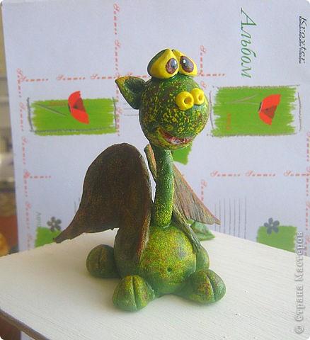 Дракоша(зелененький,по настоящему весенний!!!!) фото 2