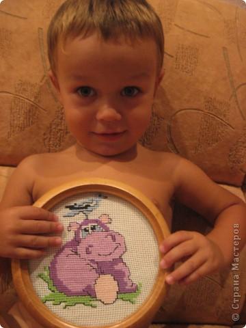 вышивка для сынишки