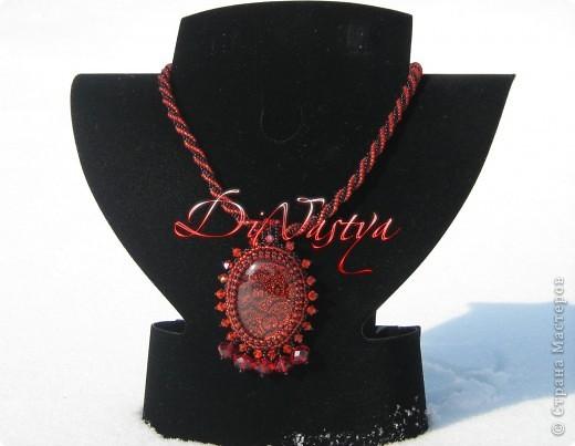 Калина красная из бисера от DiNastya