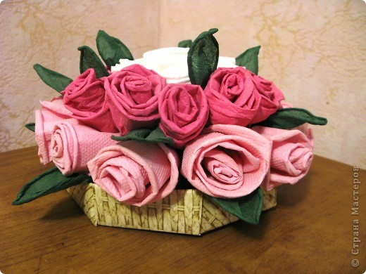 Подарок своими руками роза фото