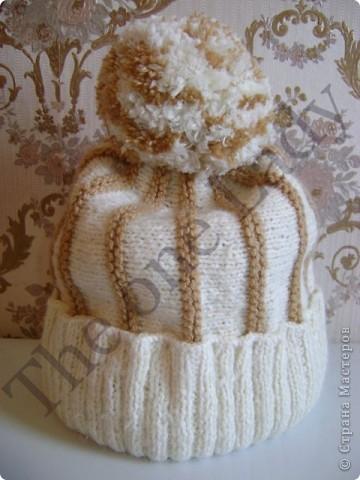 Джемпер и шапочка для старшей дочки фото 2