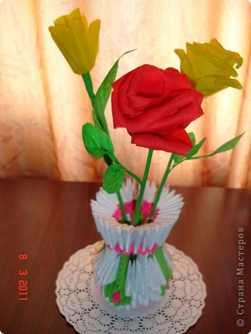 опять Розы и Тюльпаны