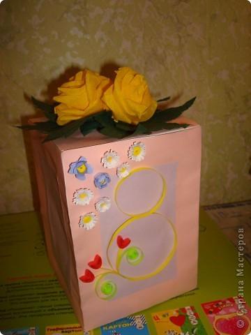 Подарок маме на 8 Марта решила упаковать в праздничную коробочку фото 3