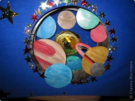 Звездный тоннель - поделка на конкурс, выполненная моей доченькой. фото 1