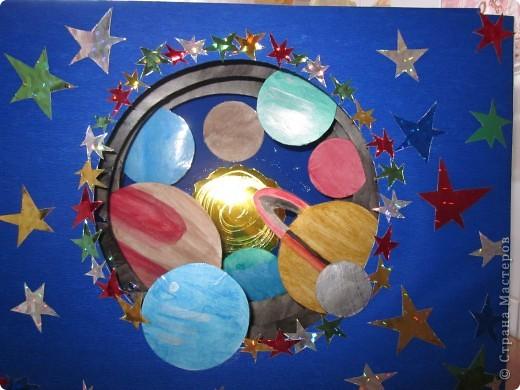 Звездный тоннель - поделка на конкурс, выполненная моей доченькой. фото 2