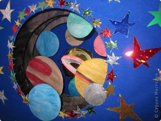Звездный тоннель - поделка на конкурс, выполненная моей доченькой. фото 3