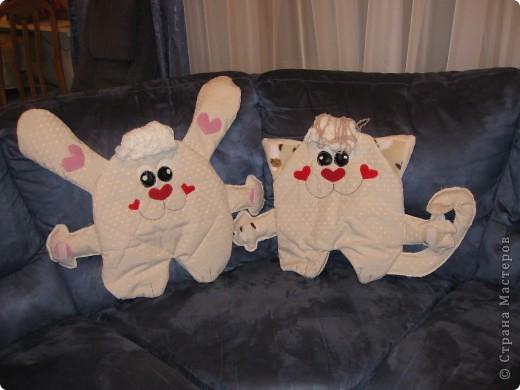 вот такие детские подушки-пижамницы получились... фото 5
