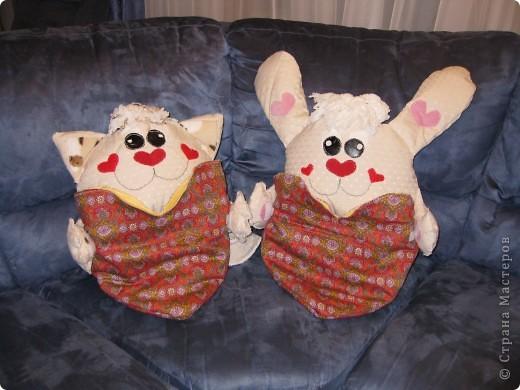 вот такие детские подушки-пижамницы получились... фото 1