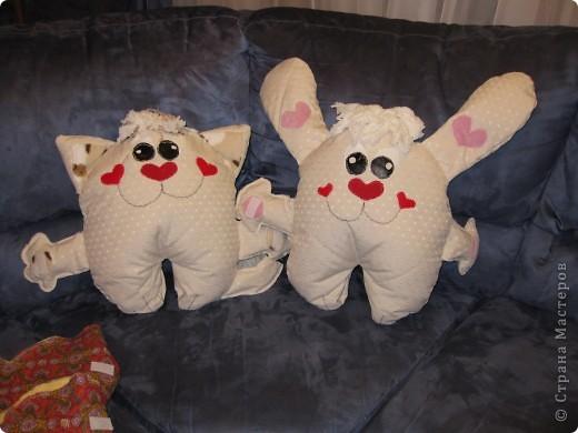вот такие детские подушки-пижамницы получились... фото 4