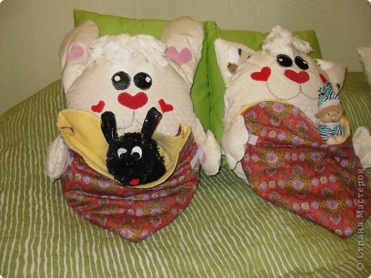 вот такие детские подушки-пижамницы получились... фото 8