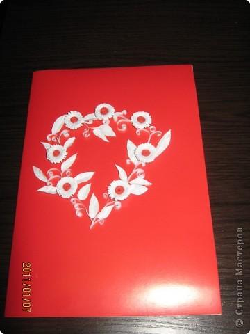 Открытка сердечко фото 1