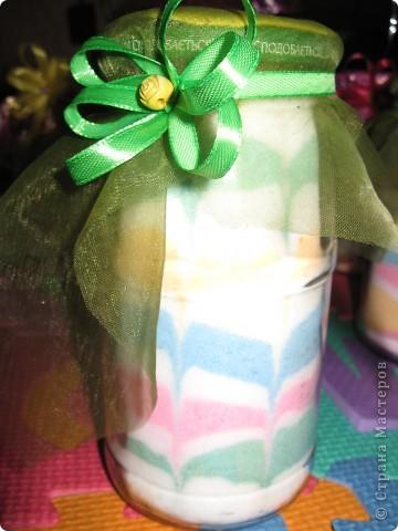 Вот такие баночки бутылочки, мы делали с детьми на Новый год для бабушек. фото 2