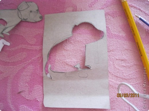 Вот такой шаблончик я нарисовала. фото 2