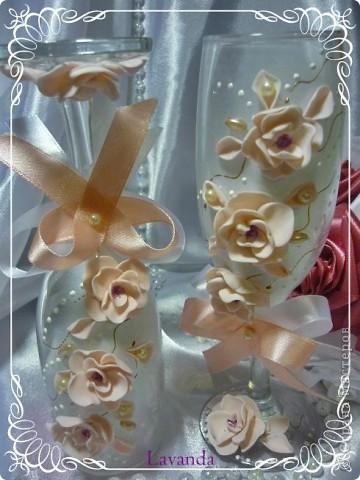 Бокальчики Весеннее цветение фото 2