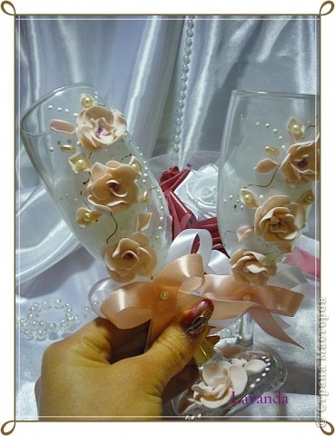 Бокальчики Весеннее цветение фото 4