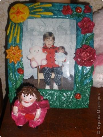 моя первая рамочка и девочка фото 1