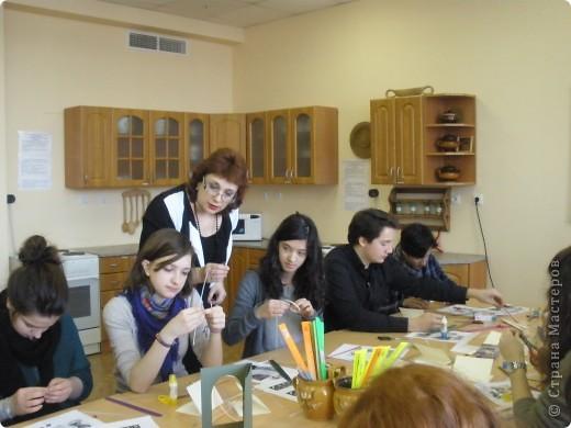 В нашей школе по программе обмена учениками гостили школьники из Франции. Жили в семьях. Ходили на уроки.  фото 4