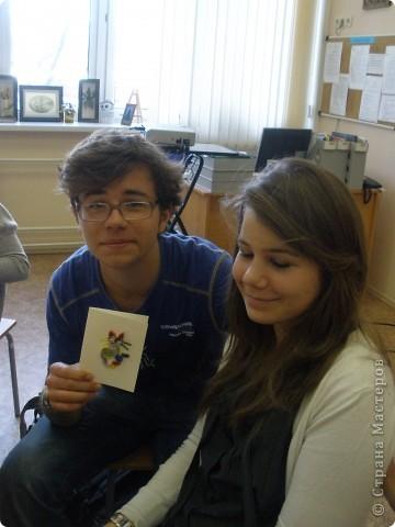 В нашей школе по программе обмена учениками гостили школьники из Франции. Жили в семьях. Ходили на уроки.  фото 9