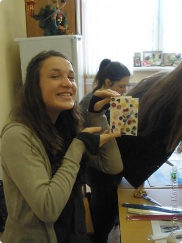 В нашей школе по программе обмена учениками гостили школьники из Франции. Жили в семьях. Ходили на уроки.  фото 7