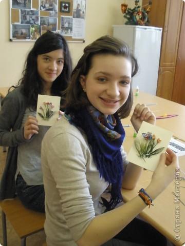 В нашей школе по программе обмена учениками гостили школьники из Франции. Жили в семьях. Ходили на уроки.  фото 6