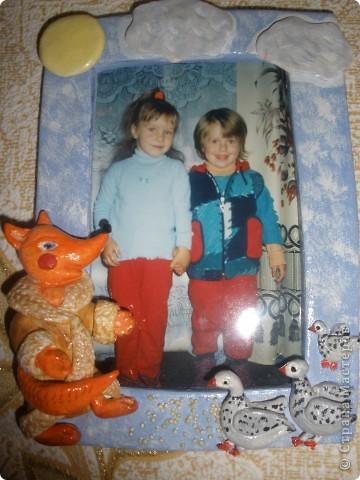 моя первая рамочка и девочка фото 2