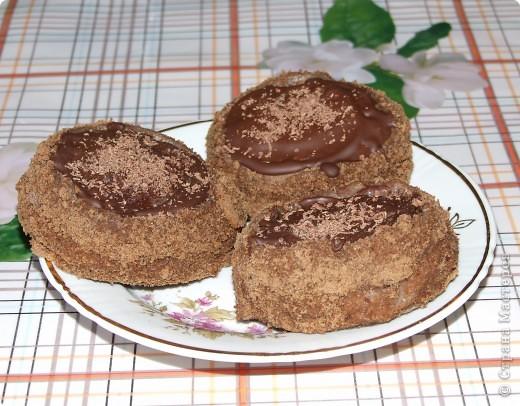 Пирожное медово-шоколадное