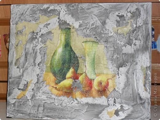 ПЕРВЫЙ БЛИН... (имитация фрески) фото 1