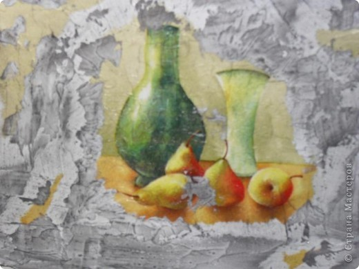 ПЕРВЫЙ БЛИН... (имитация фрески) фото 3