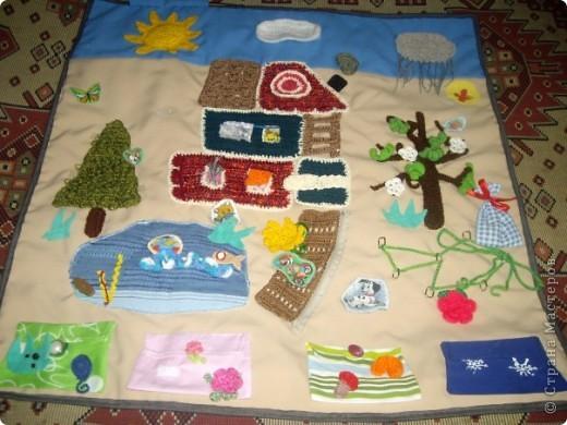 развивающий коврик (времена года) фото 1