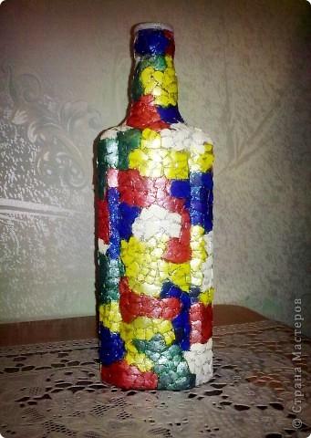 обычные бутылочки расписаны акриловой краской фото 6