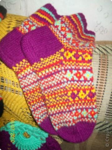Усть-Цилемские носки. фото 1